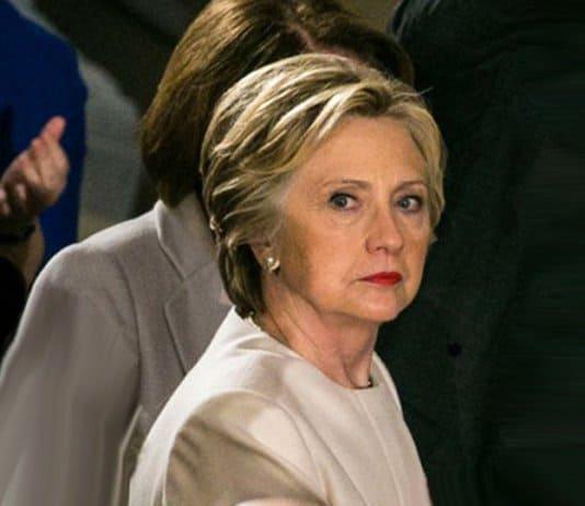 hillary clinton at trump inauguration.