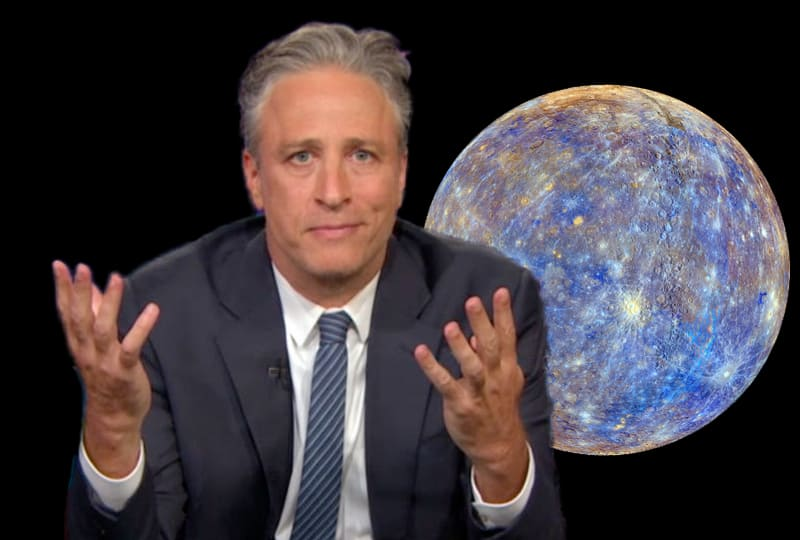 jon stewart leaving for another planet.