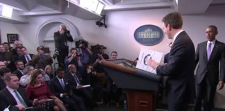 Josh Earnest surprised by Obama.