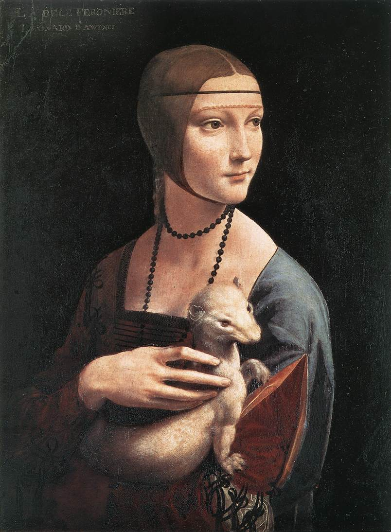 lady with an ermine - davinci.