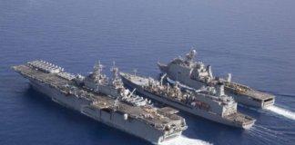 navy exercise.
