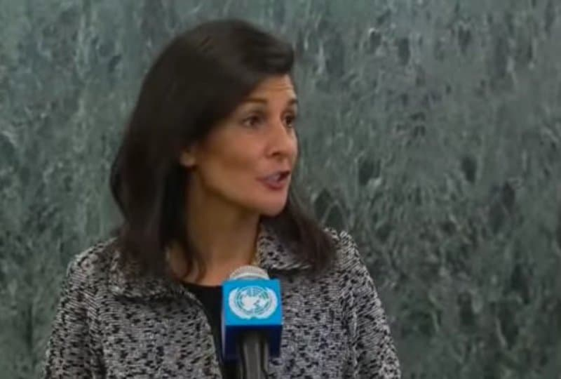 Nikki Haley talks about US role in the UN
