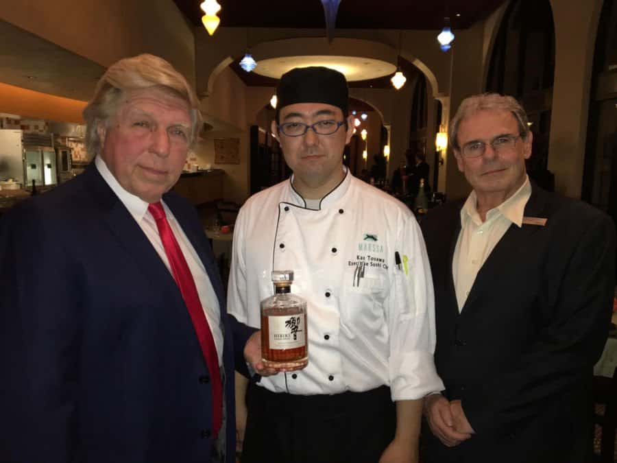 Pete Allman, Chef Kauki and manager.