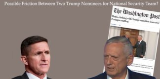 possible friction between trump nominees.