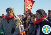 Sioux protestors.