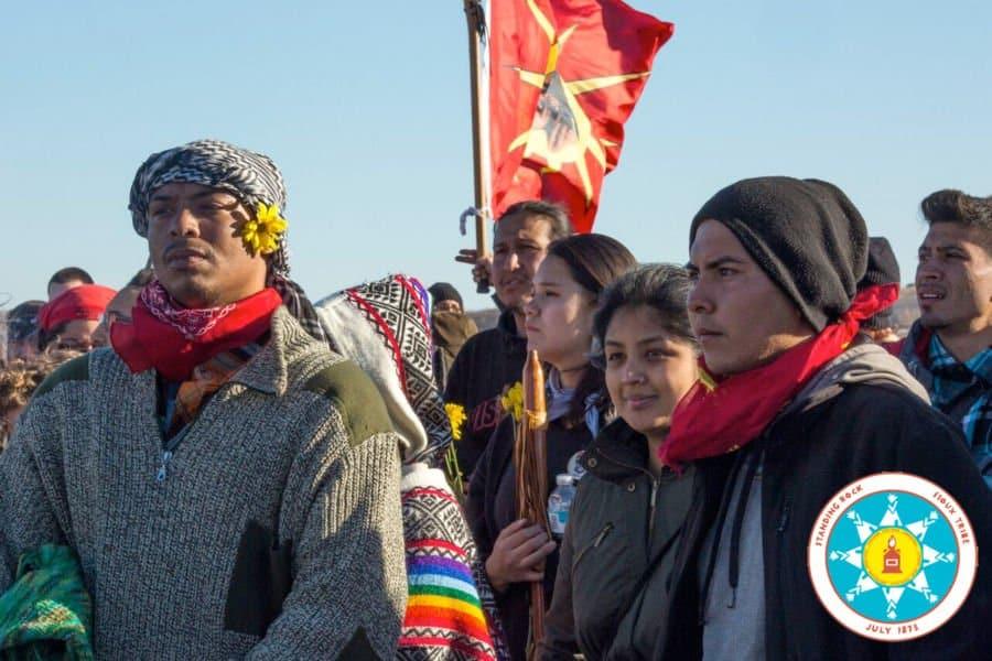 Standing Rock Sioux protestors.