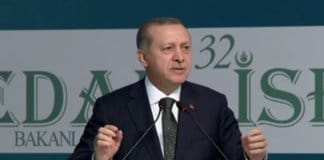 Turkey: Erdogan talking about EU.