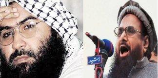 Masood Azhar- Hafiz Saeed.