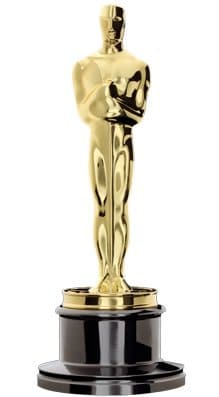 The trophy of a prestigious award, the Academy Award. Wikimedia Commons