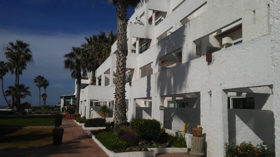 back of las rocas resort and spa.