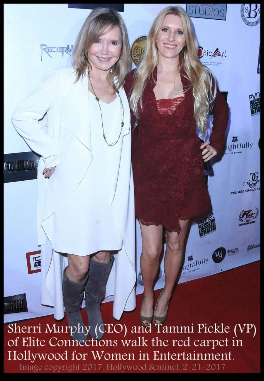 Sheeri Murphy and Tammi Pickle at a red carpet event.