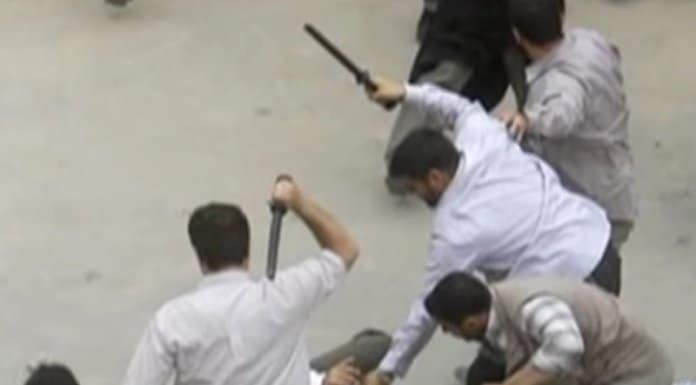 iran crackdown on youth.