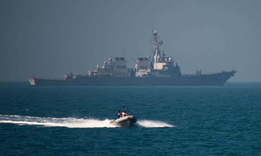 naval exercises Arabian Gulf.