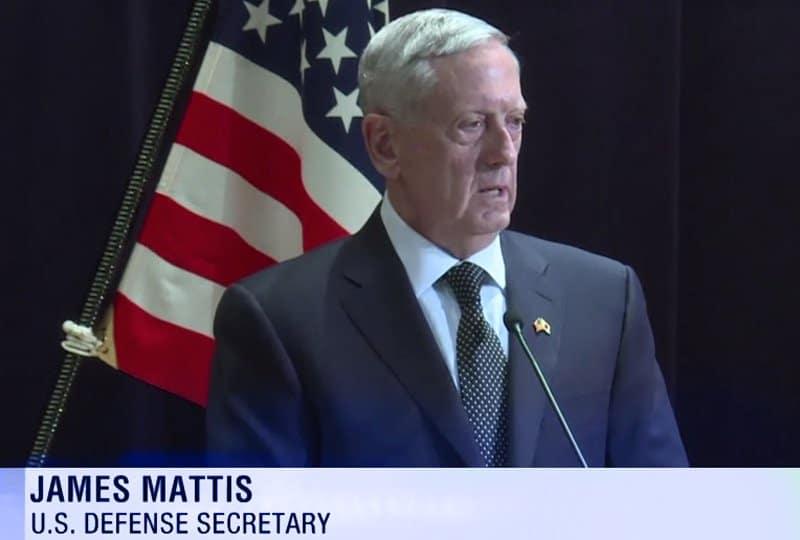 Mattis Speaks about Iran.