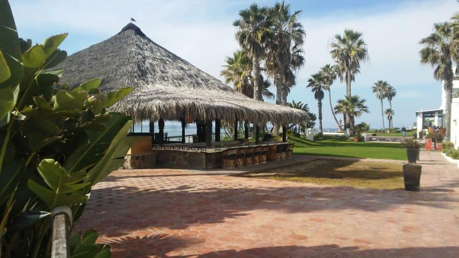 the outside bar las rocas resort and spa.