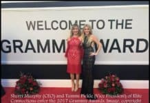 sherri and tammi at the grammys.