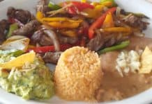 steak dish at las rocas resort.
