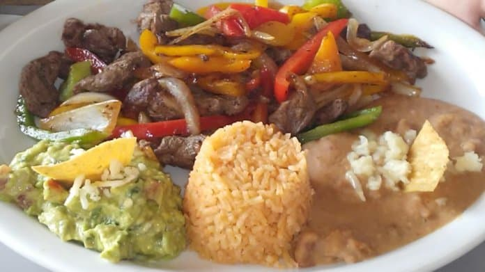 steak dish at las rocas resort.
