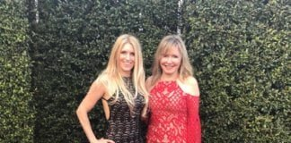 Tammi and Sherri at the Grammys.