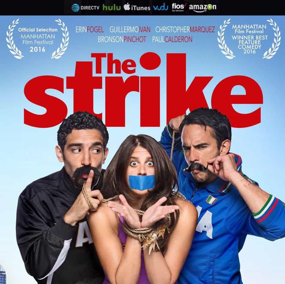 """""""The Strike"""" movie poster"""