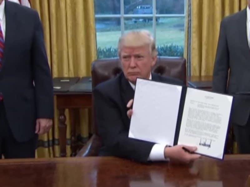 week one of president trump.