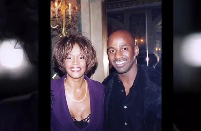 whitney houston and gordon chambers.