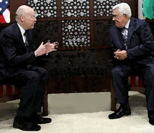 Jason Greenblatt meets Mahmoud Abbas.
