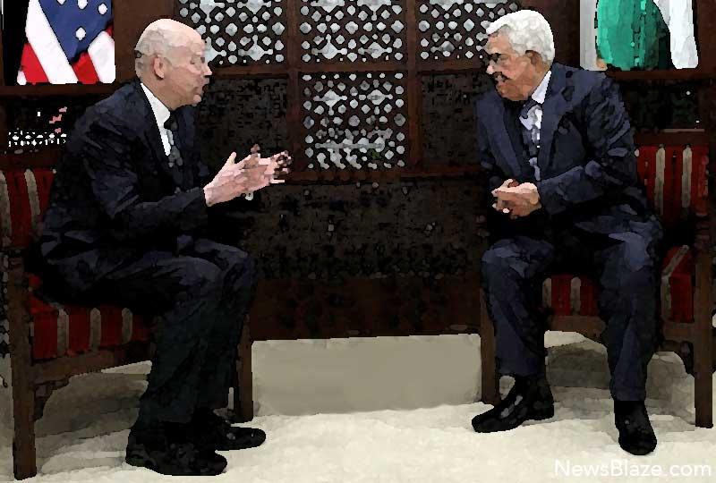 Jason Greenblatt meets Mahmoud Abbas.