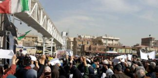 iran demonstration.