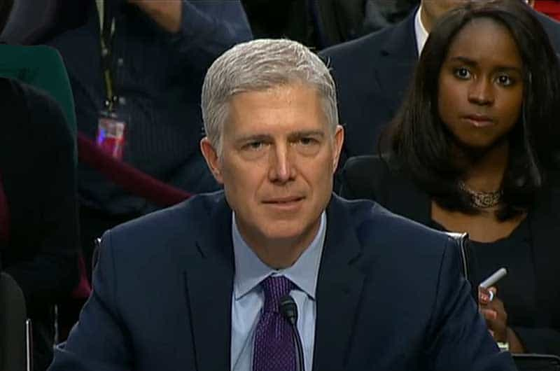 judge gorsuch.