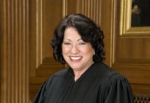 Justice Sonia Sotomayor.