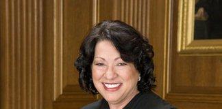 Justice Sonia Sotomayor.