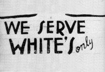 serving whites.