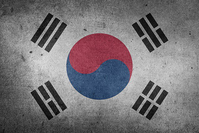 The South Korean flag.