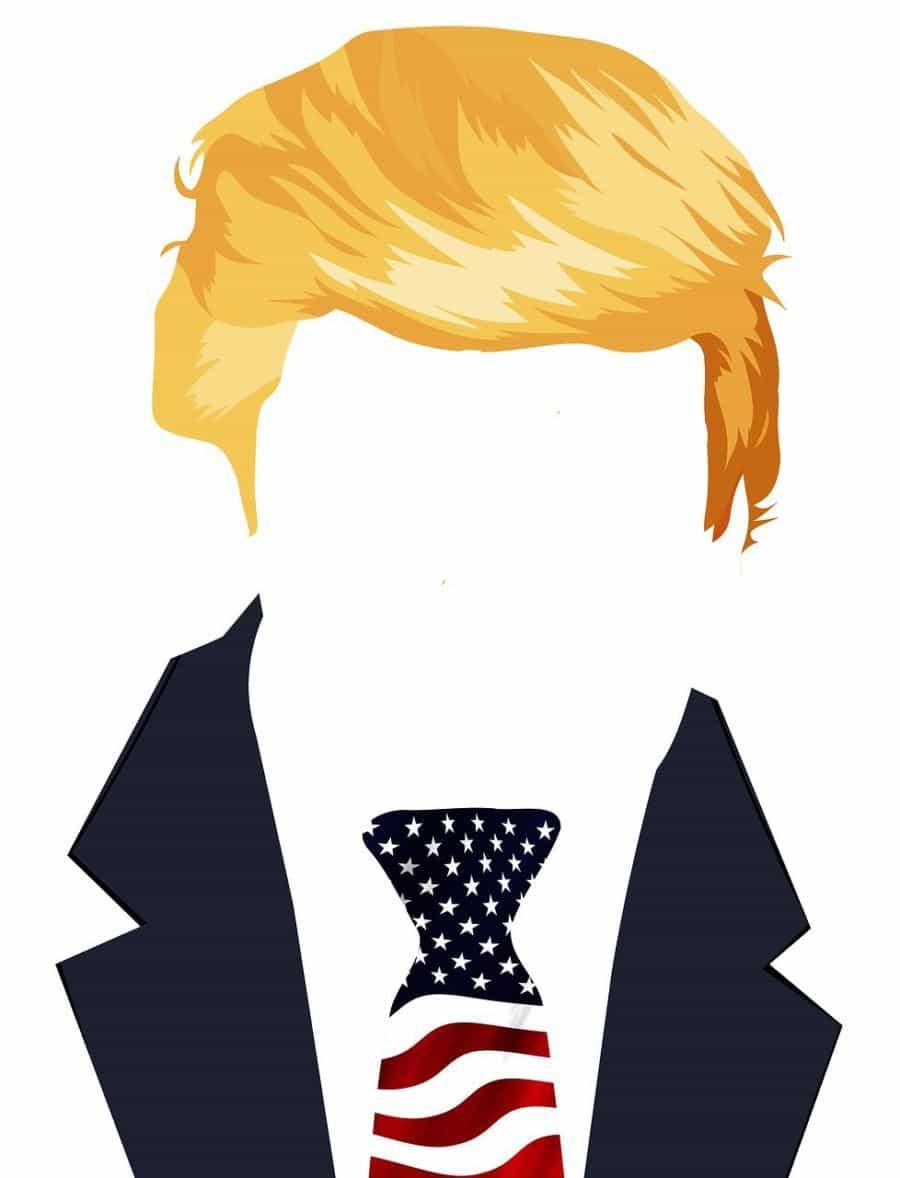 The Ultimate Trump Debate, Is it a Wig?
