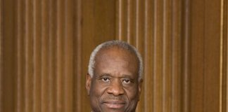 Clarence Thomas, Associate Justice of the Supreme Court of the United States (public domain photo)