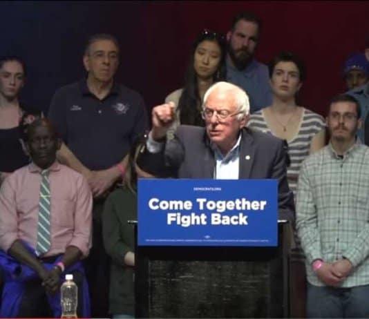 will bernie sanders dissolve the democratic party.