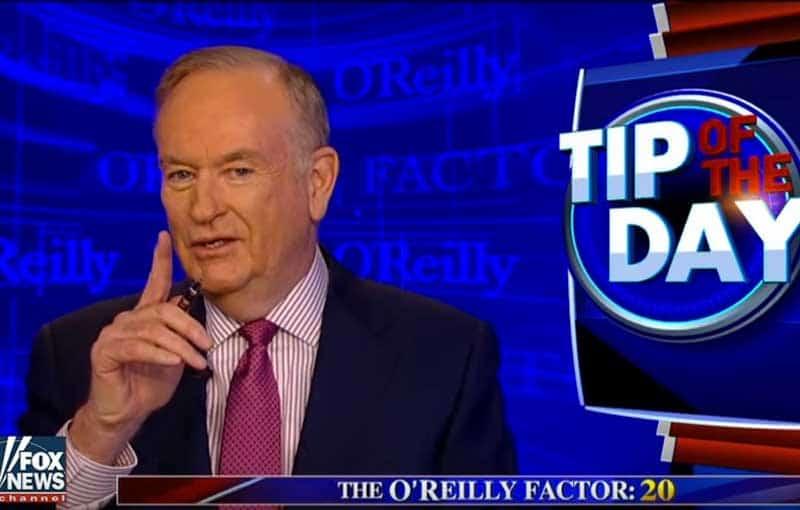 Bill O'Reilly fired.