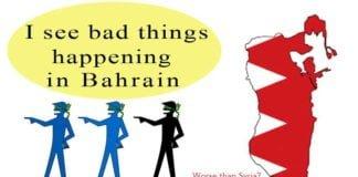 defaming bahrain.