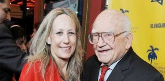 hilary helstein and ed asner.