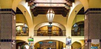 inside rosarito beach hotel.