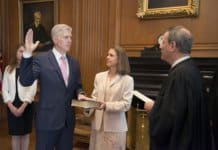 The Honorable Neil M. Gorsuch - Constitutional Oath Ceremony.