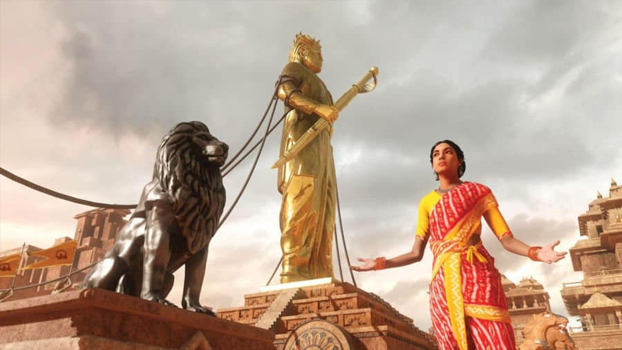 'The Sword of Baahubali' in Storyscapes Projects
