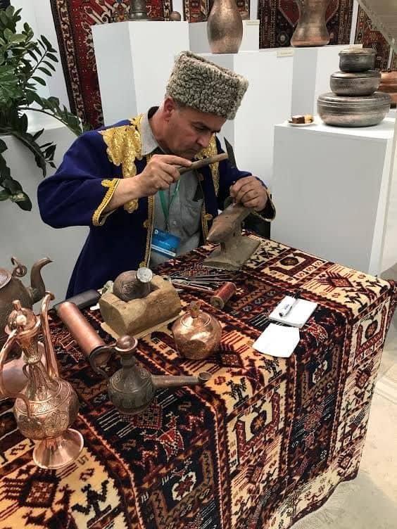 Azerbaijani artisan.