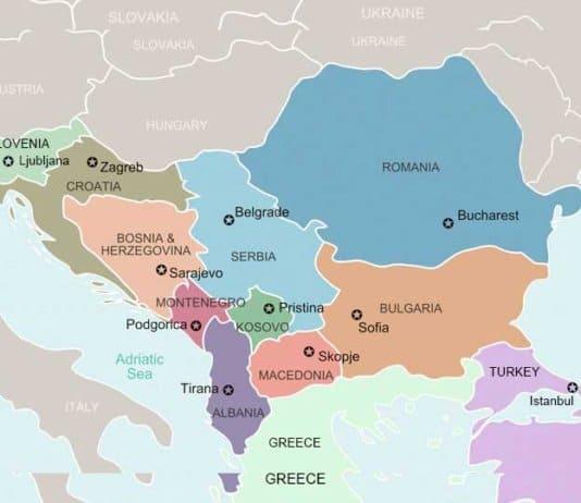 balkans map.