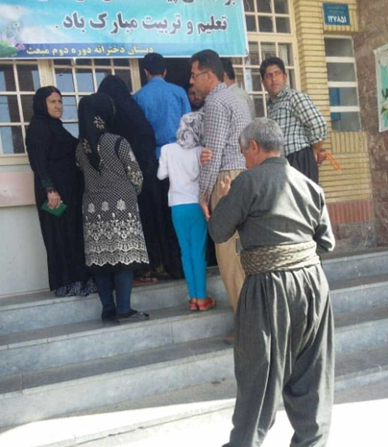 few voters Iran.