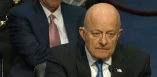 James Clapper responding to Ted Cruz.