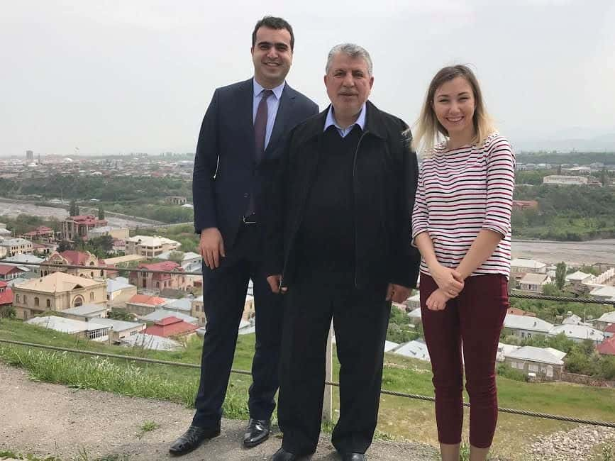 L-Elgun Mehdiyev, Ministry of Foreign Affairs, Milikh Yevdayev Chairman of Baku Mountain Jews Community, Umay Hasanova Ministry of Culture and Tourism.