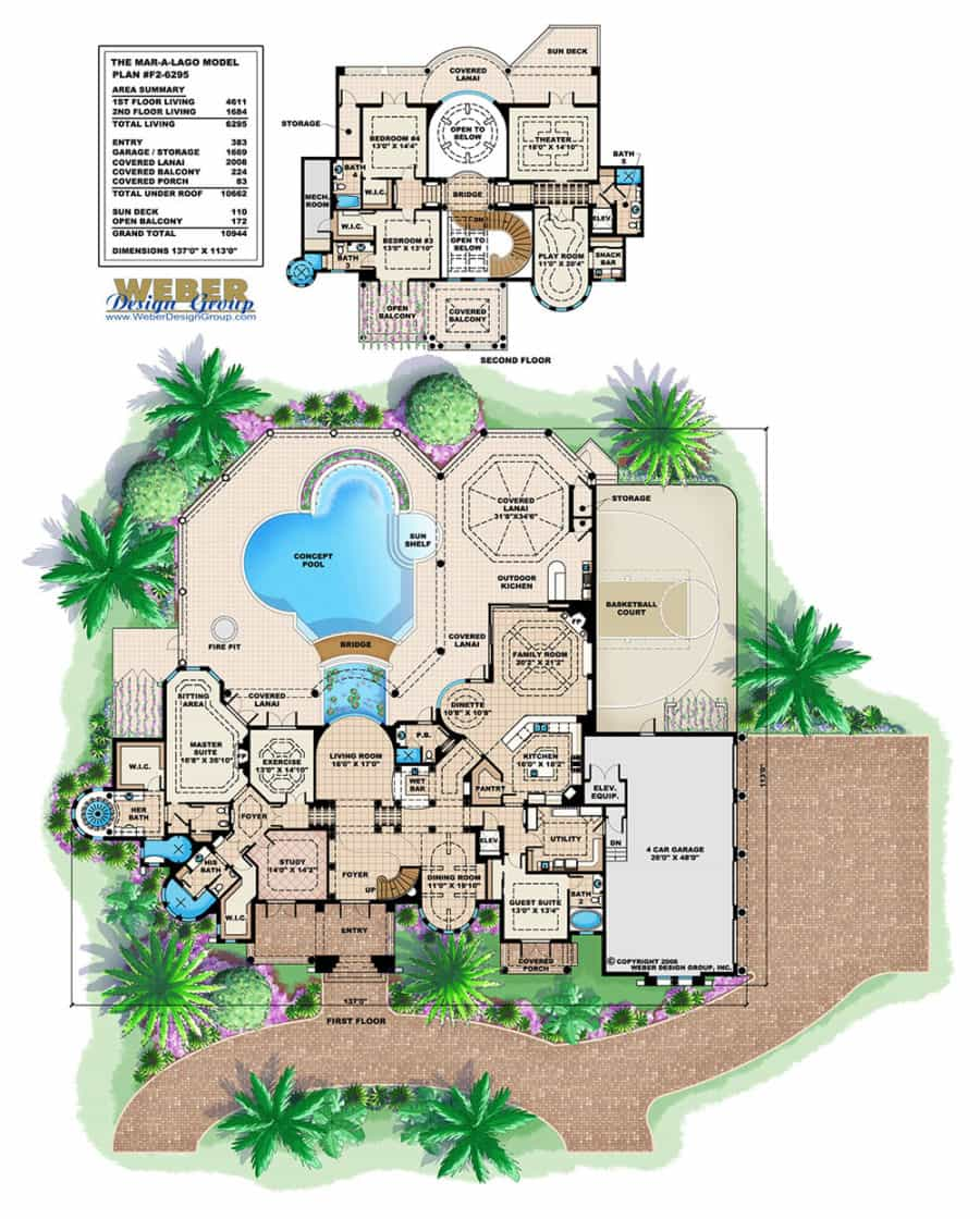 Mar-a-Lago floor plan