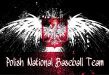Polish National Baseball Team logo.